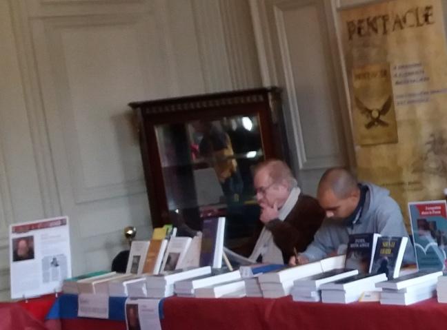 Hervé Rigot Muller et Dario Alcide