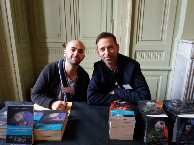 Raphael Panarisi et Fabien Saint Val