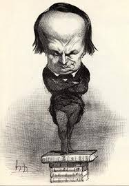 caricature victor hugo