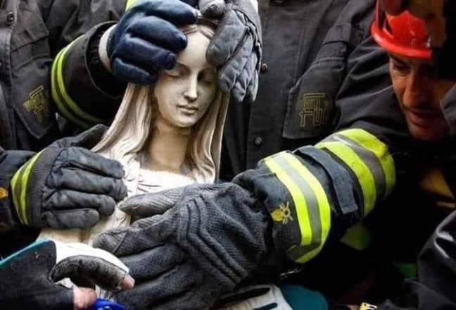 notre dame pompiers