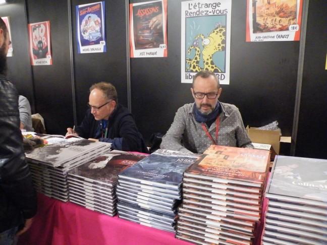 Jeff Pourquié et Jean Christophe Chauzy
