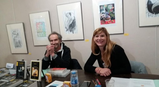 JL Nogaro et Cendrine Bertani